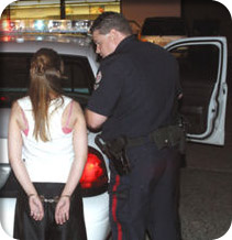 Photo of woman arrested in need of a DUI attorney in Seattle,WA